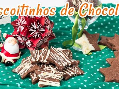 Biscoitinhos de Chocolate - Receitas de Minuto EXPRESS #23