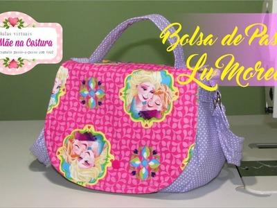 Bolsa de Passeio Lu Moreira | Minha Mãe na Costura |