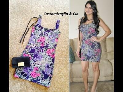 Como fazer um vestido simples  by Customização & Cia