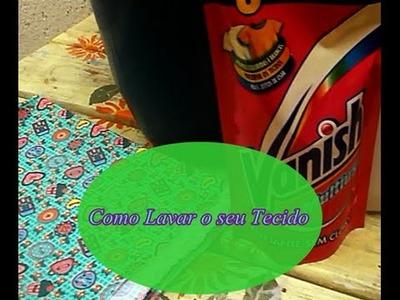 Como Lavar seu Tecido - Patchwork