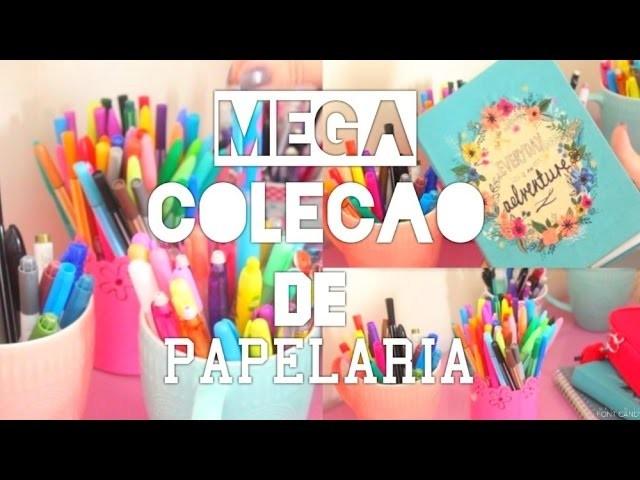 ♡ MEGA COLEÇÃO DE PAPELARIA ♡ l Gabi Ferreira