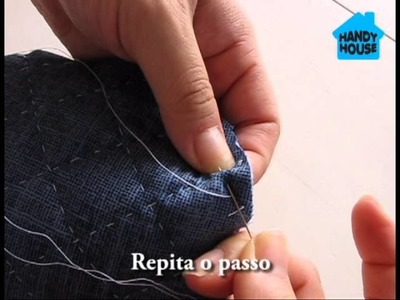 Patchwork à mão - Tutorial de pesponto - Handy House