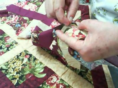 Patchwork Ao Vivo #07: Virada da Agulha (Needle Turn Appliqué)