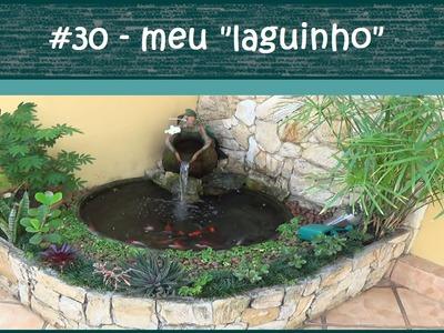 Minha fonte ornamental com peixes - #EP30