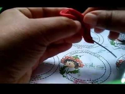 Mini Xicara Cascata de Rosas em E.V.A (Drika Lixto)