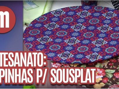Capa para sousplat - Artesanato - Mulheres (28.06.16)