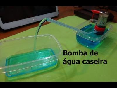 Como fazer uma bomba de água caseira