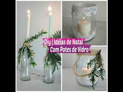 Diy Especial de Natal | Idéias de Natal Rápida Gastando Pouco | Carla Oliveira