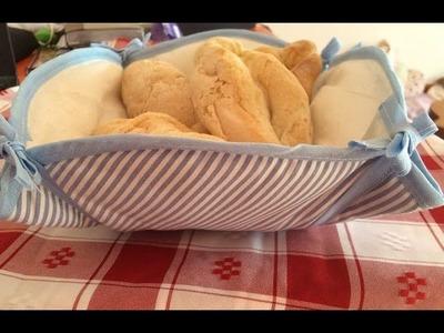 Kit de cozinha- #Vídeo2 Cesta de pão