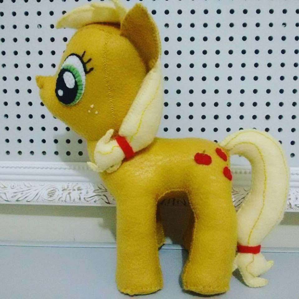 PAP My Little Pony em Feltro - Tutorial AppleJack
