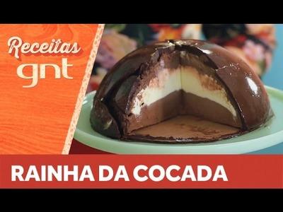 Receita de domo de chocolate | Raiza Costa