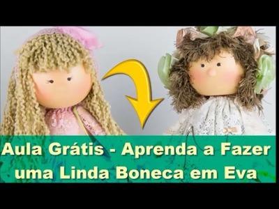 Aula Grátis Boneca Articulada em EVA | Aprenda Agora! Boneca Articulada em EVA