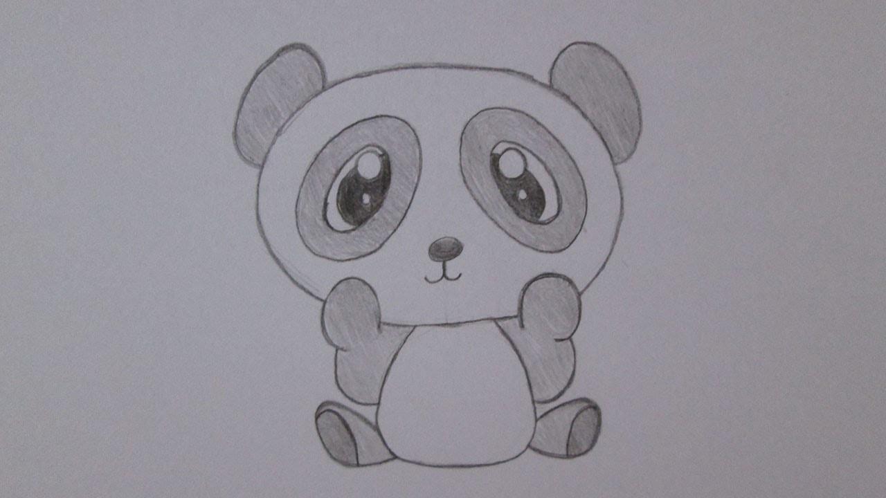 Super Como desenhar um urso panda TD01
