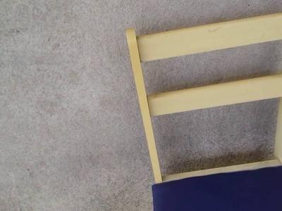 Tirando as Medidas dos Encostos Das Cadeiras Com Cristina Coelho Alves