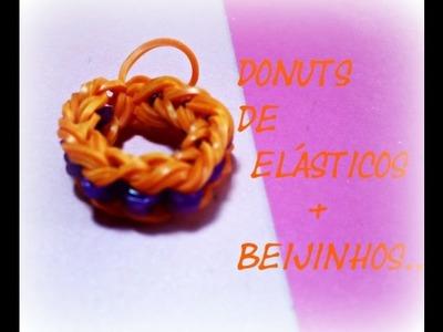 Donuts de elásticos mais beijinhos