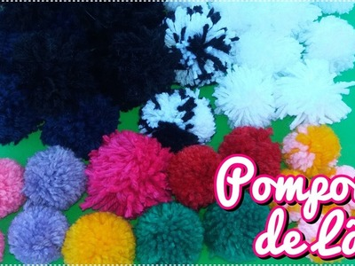 2 maneiras de fazer pompons de lã que você precisa aprender! ♥