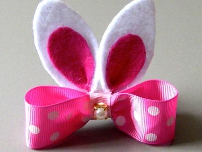 Fivela Coelinho da Pascoa Passo a Passo -Easter Bunny