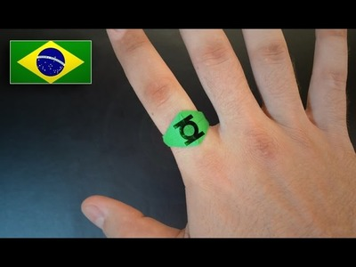 Origami: Anel - Instruções em Português PT BR