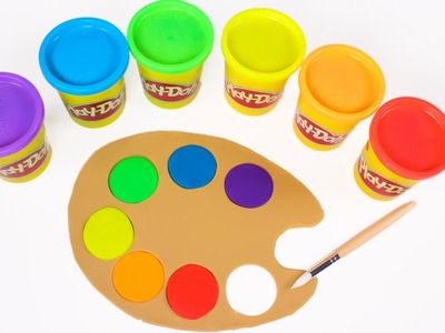 Paleta de colores play doh