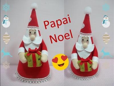 Passo a passo Papai Noel (feltro) | Sarah Silva |