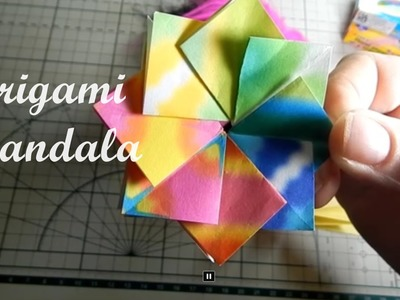 Origami  Pipa Mandala