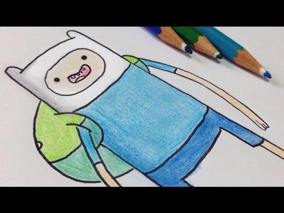 Como desenhar o Finn do Hora de Aventura