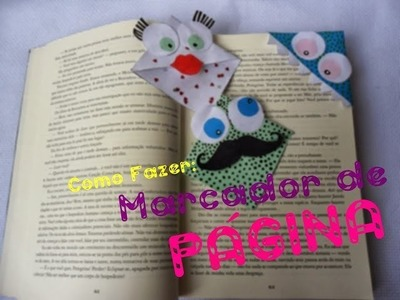 Como fazer: Marcador de página - By: Camila Soares