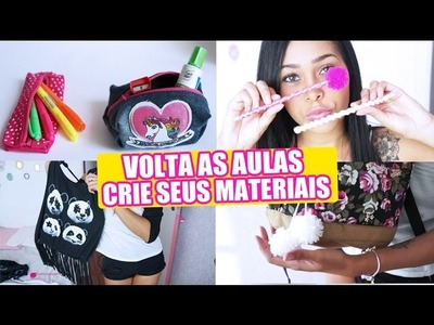 DIY materiais escolares 2017 - Back to school