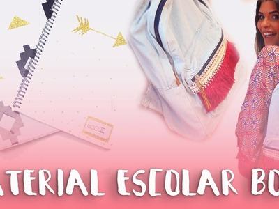 DIY Material Escolar BOHO!! #RegressoÀsAulas