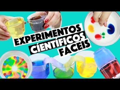 IDEIAS INCRÍVEIS PARA FAZER EM CASA #4 - EXPERIMENTOS CIENTÍFICOS!!!
