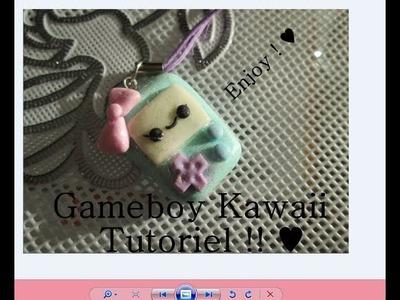 [TUTO] Gameboy Kawaii Fimo ♥