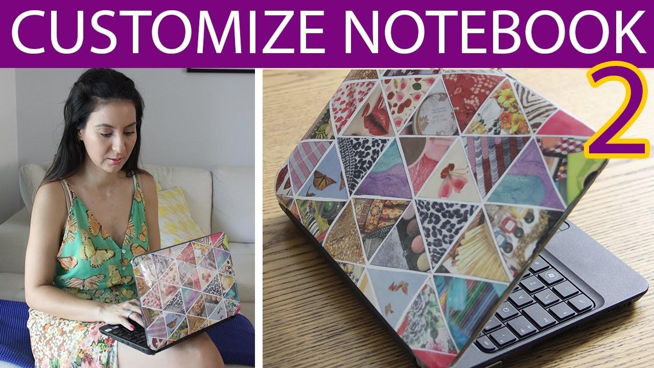 [DIY] Customizando Notebook 2, agora com Revistas - wFashionista