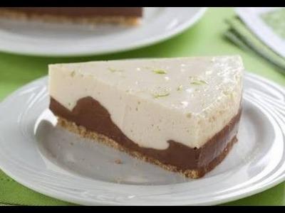 Torta de limão e chocolate  | Receita simples