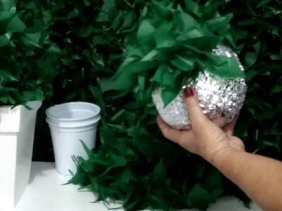 Aula 80 - Como fazer uma linda bola de mato