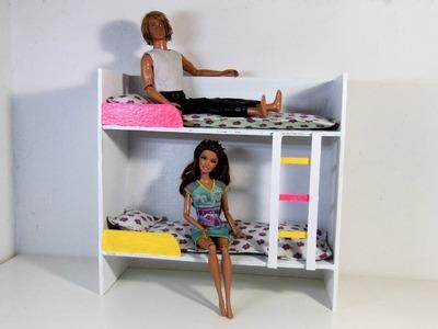 Beliche para Barbie e Outras Bonecas com Papelão DIY