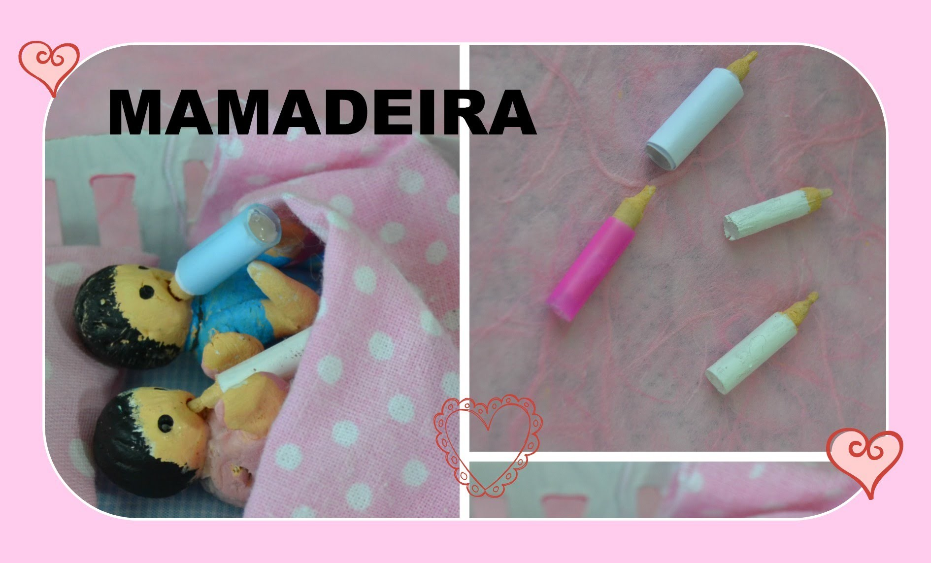 Como fazer mamadeiras para o baby da Barbie