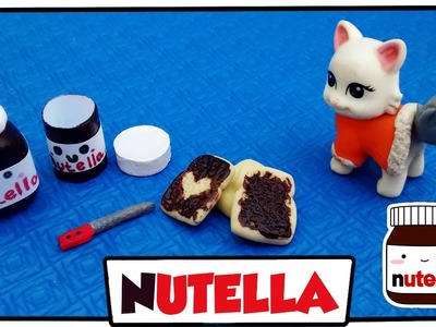 Como fazer: Nutella com torradas para bonecas Barbie, Monster High, E.A.H entre outras