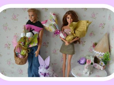 Como fazer ovos de pascoa para boneca Barbie