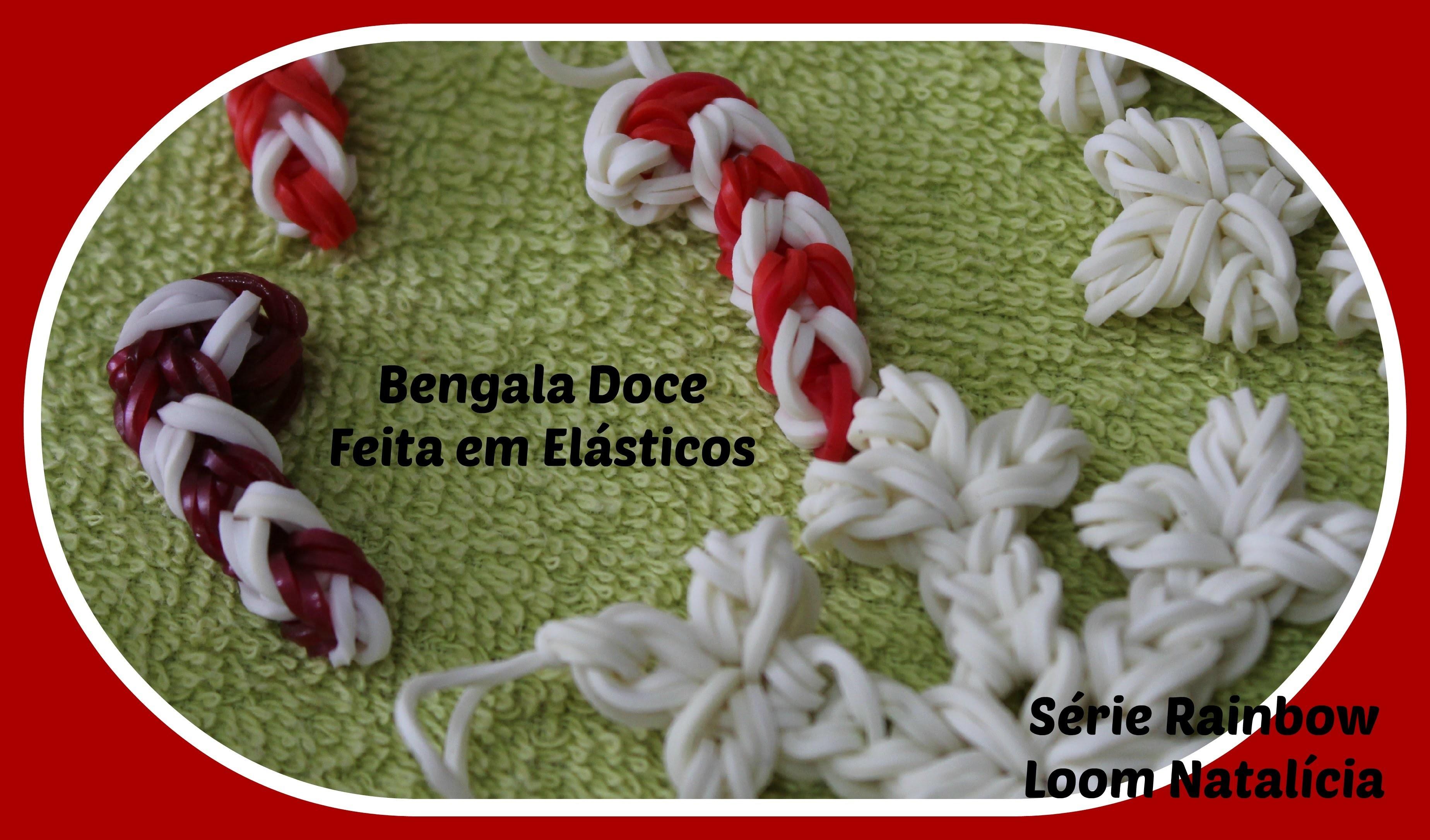 Decorações de Natal.  Bengala Doce