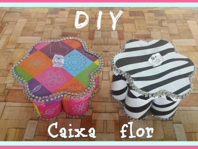 DIY: Caixa flor (reciclando=)