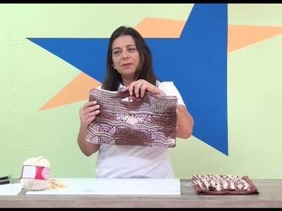 Cristina Amaduro - Carteira em crochê MultiArte