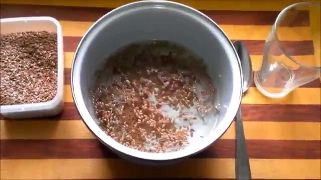 DIY Como fazer Gel de Linhaça - Flaxseed Hair Gel - Leinsamen Haargel.