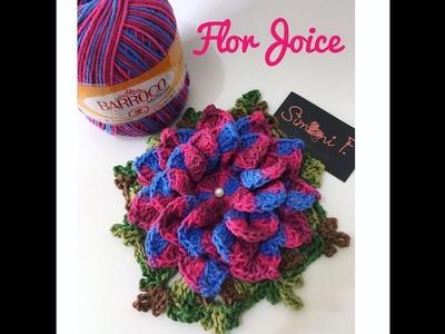Flor Joice em Crochê