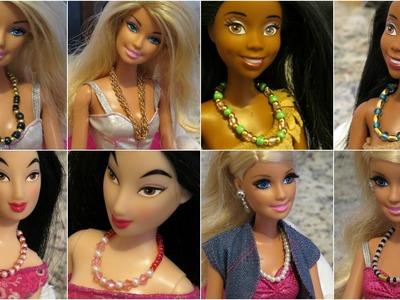 """Maxi Colar"" para Barbie DIY"