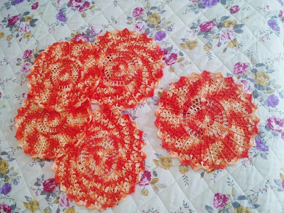 Toalhinha de crochet | #1 Camilaarts