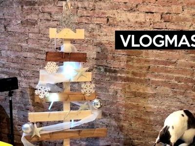 Árbol de Navidad, mi primer DIY - Vlogmas 9
