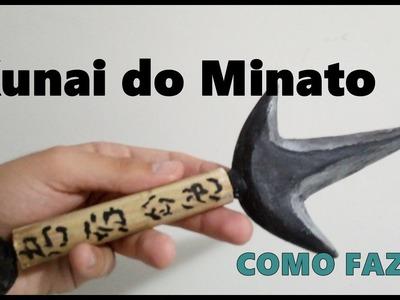 Como fazer uma kunai Minato (Naruto)-DIY