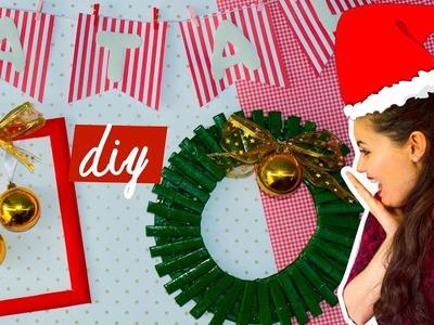 DIY - 3 IDEIAS DE DECORAÇÃO PARA O NATAL - Especial de Natal