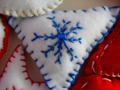 DIY: felt christmas decoration