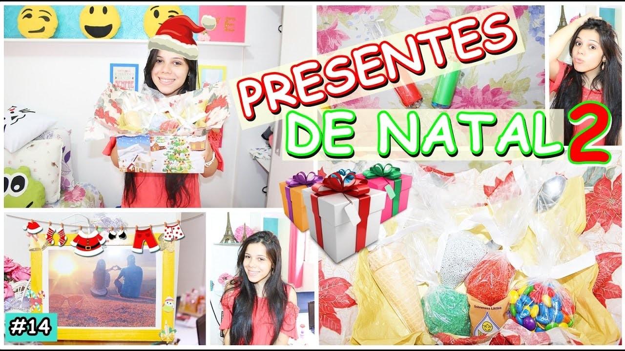 DIY: PRESENTES DE NATAL 2 ♡ #UMPORDIA